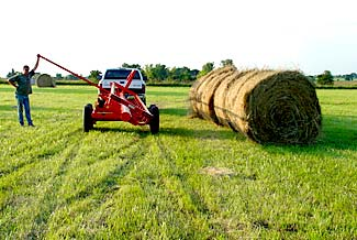 Orange Ox - Orange Ox Self Un-loading Hay Trailers - All done!