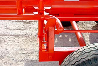 Orange Ox - Orange Ox Self Un-loading Hay Trailers - Front Latch