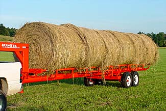Orange Ox - Orange Ox Self Un-loading Hay Trailers - Hauling