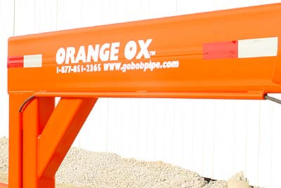 Orange Ox - Orange Ox Self Un-loading Hay Trailers - Super heavy duty reinforced neck will give you many years of worry free service